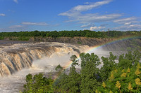May - Cohoes Falls Rainbow