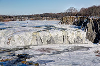 New Year's Day Cohoes Falls